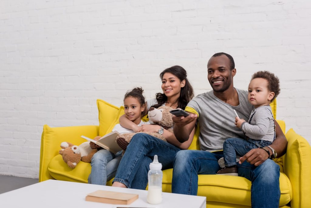 Family streaming TV