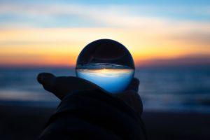 Lens into the future