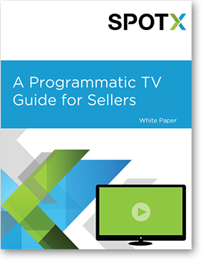 A Programmatic TV Guide for Sellers, programmatic TV advertising, programmatic advertising