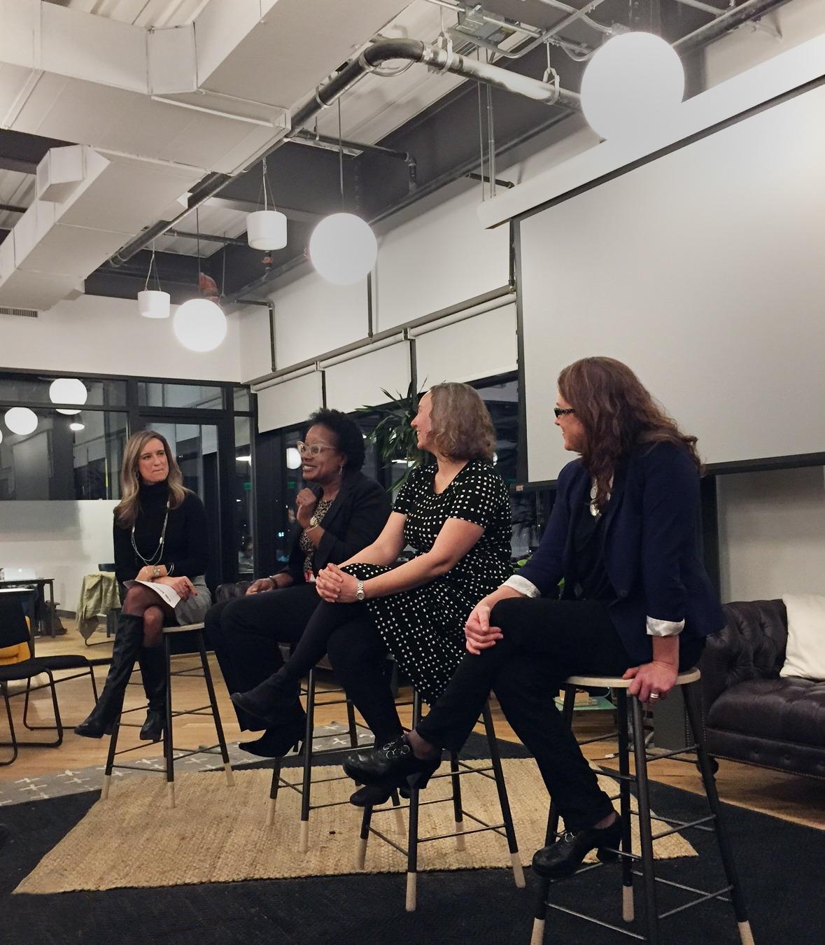 SpotX Women in Tech Panel