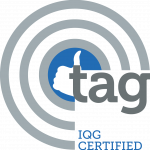 TAG IQG Certified seal