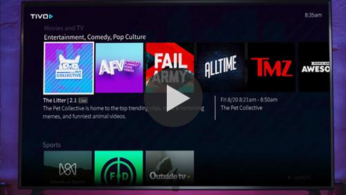 TiVo | SpotX Inventory Highlight