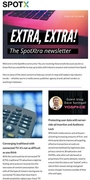 newsetter SpotXtra