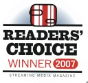 Reader's Choice Award 2007