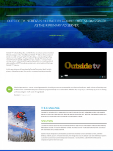 Outside TV case study preview