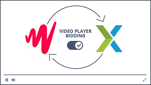 video player bidding